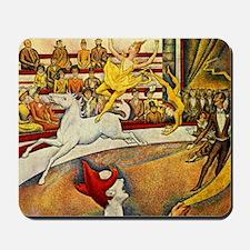 Georges Seurat Circus Mousepad