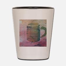 Batik Brown Coffee Cup Shot Glass