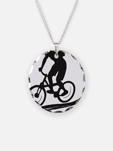 biker mtb mountain bike cycl Necklace