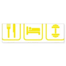 EatSleepLift1E Bumper Sticker