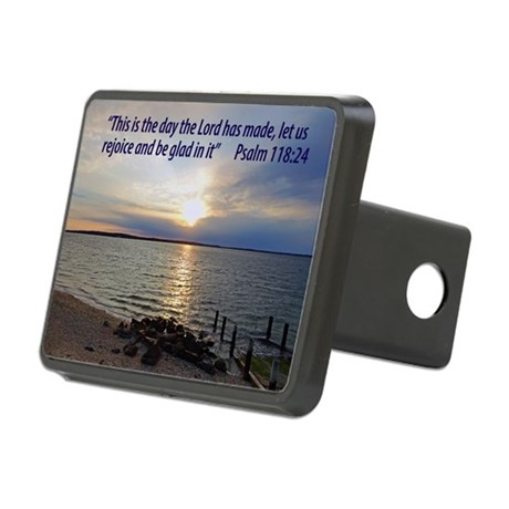 This is the day the Lord h Rectangular Hitch Cover