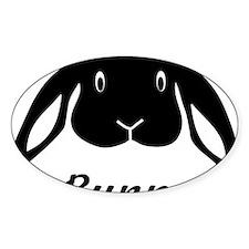 bunny hare rabbit cute Decal