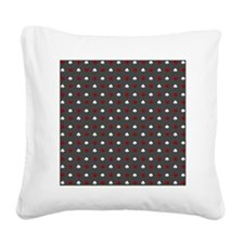 Poker Square Canvas Pillow