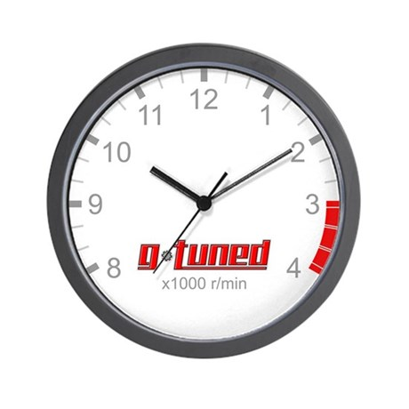 G-Tuned RPM Wall Clock