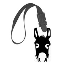 donkey mule horse ass jackass bu Luggage Tag