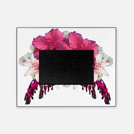 Hibiscus floral arrangement Picture Frame
