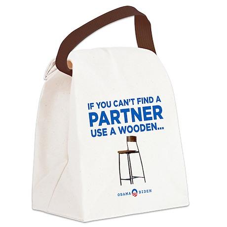 Obama Biden 2012 Canvas Lunch Bag