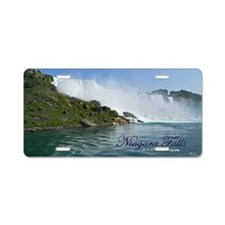 Bridal Falls Aluminum License Plate