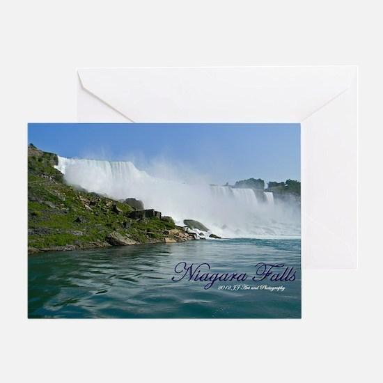 Bridal Falls Greeting Card