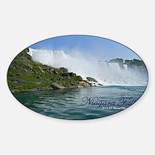 Bridal Falls Sticker (Oval)