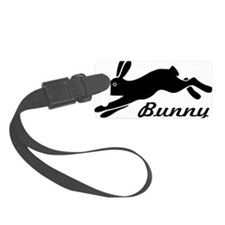 bunny hare rabbit Luggage Tag