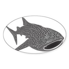 whale shark diver diving scuba Decal