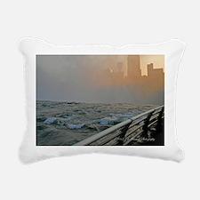 Horseshoe Falls and Cana Rectangular Canvas Pillow