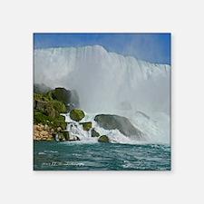 "Bridal Falls Square Sticker 3"" x 3"""