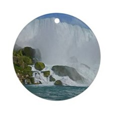 Bridal Falls Round Ornament