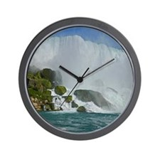 Bridal Falls Wall Clock