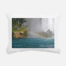 Rainbow Rectangular Canvas Pillow