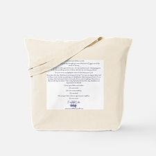 TOL I John shirt back Tote Bag