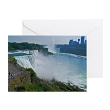 Niagara Falls and Canada Greeting Card
