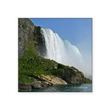 "Bridal Falls Square Sticker 3"" x 3"""