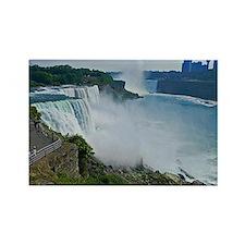 Niagara Falls and Canada Rectangle Magnet
