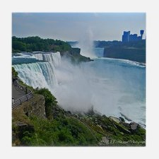 Niagara Falls and Canada Tile Coaster