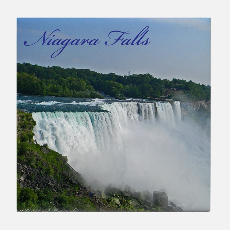 Bridal Falls Tile Coaster