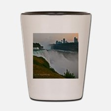 Sunset at Niagara Falls Shot Glass