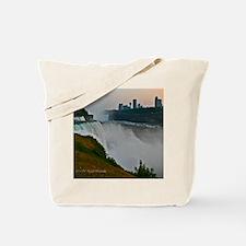 Sunset at Niagara Falls Tote Bag