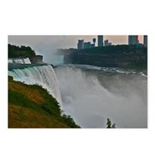 Sunset at Niagara Falls Postcards (Package of 8)