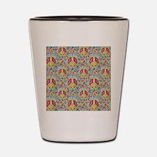 Tie Dye Peace Shot Glass