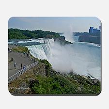 Falls and Canada Mousepad