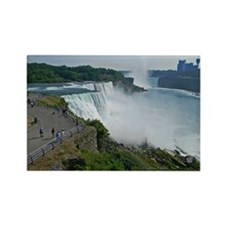 Falls and Canada Rectangle Magnet