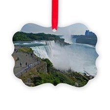 Falls and Canada Ornament