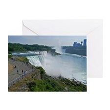 Falls and Canada Greeting Card