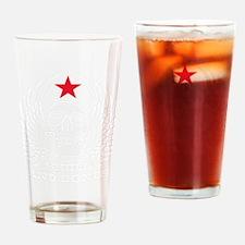 skull and bones 3 2c Drinking Glass