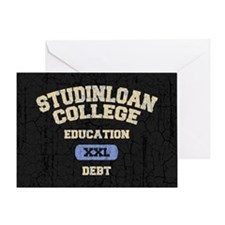 studinloan-CRD Greeting Card