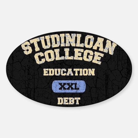 studinloan-CRD Sticker (Oval)