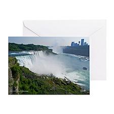 Niagara Falls and Canada Greeting Card