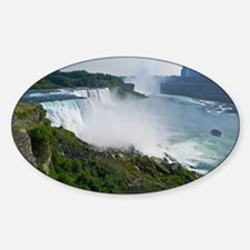 Niagara Falls and Canada Sticker (Oval)
