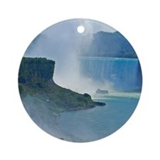 Horseshoe Falls Round Ornament