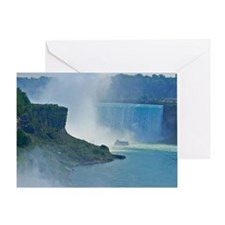 Horseshoe Falls Greeting Card