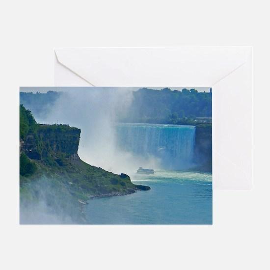 Horseshoe Falls Greeting Card