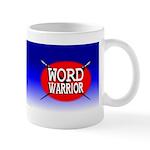 Word Warrior red shield Mug