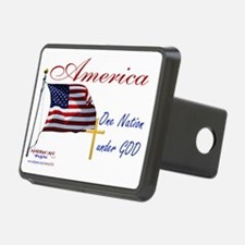 America One Nation Under G Hitch Cover