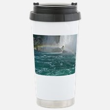 Rainbow and Bridal Falls Travel Mug