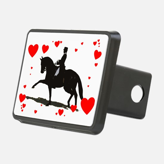 Dressage and Hearts Hitch Cover