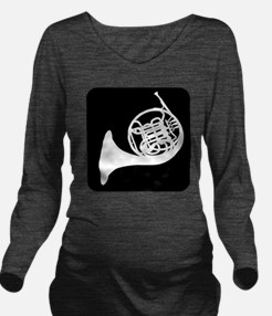 Horn Long Sleeve Maternity T-Shirt