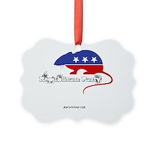 MP Republican Rat Ornament