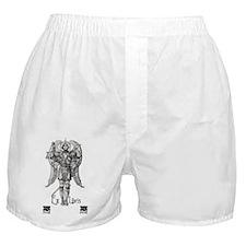 Ex Libris Angel Boxer Shorts